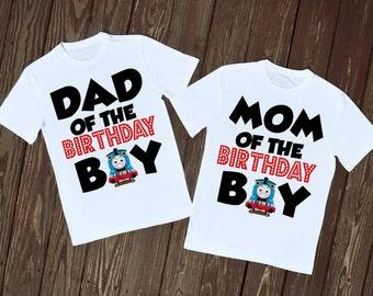 Thomas The Train Birthday Shirts
