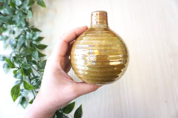 Small Contemporary Vase Ceramic Vase Small Vase Green Etsy