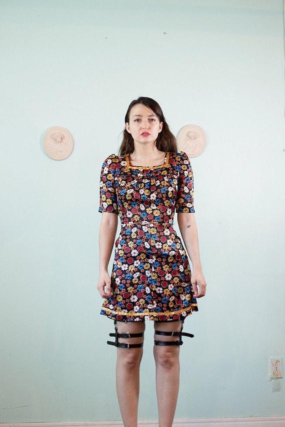 Fabulously beaded 1960s minidress!