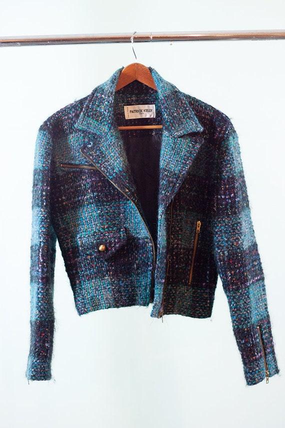 Patrick Kelly bouclé jacket - vintage 1980s jacket