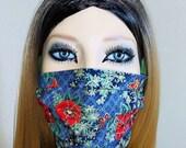 Fancy Floral Face Mask