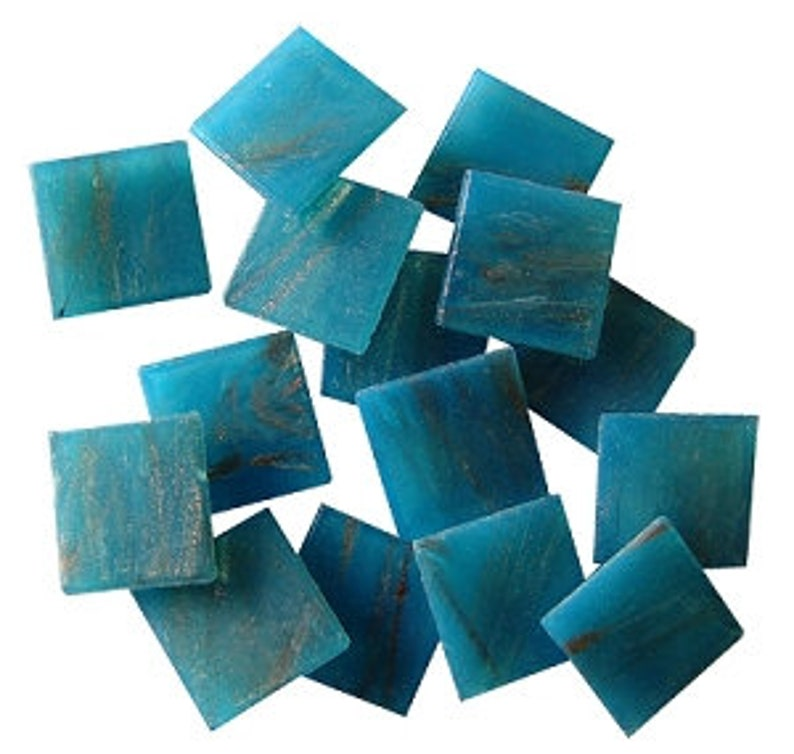 34 Gold Veined Venetian Glass Mosaic Tiles Single Colors and Mixes