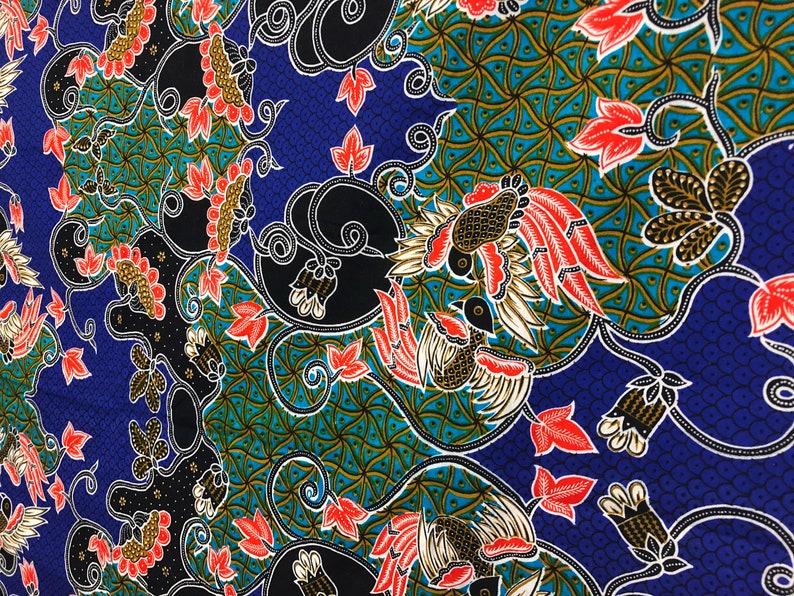 Emchit Cotton Bird Print Fabric 2.5 Yards