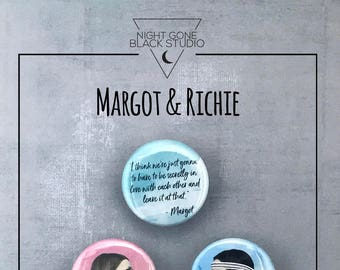 The Royal Tenenbaums - Margot & Richie Button Collection
