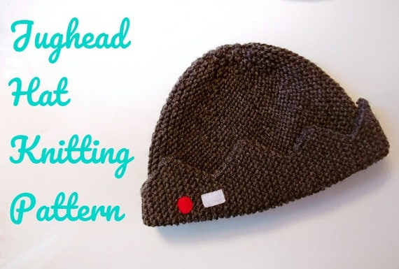 Jughead s Hat Knitting PATTERN  23621c3c34b