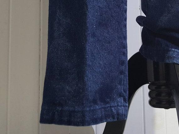 70s High Waist Jeans; 70s High Waist Denim Pants … - image 8