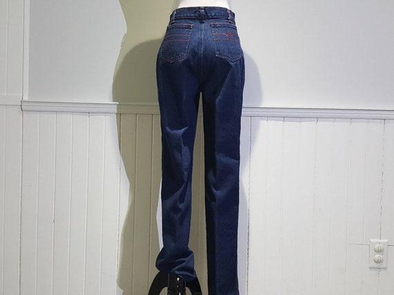 70s High Waist Jeans; 70s High Waist Denim Pants … - image 7