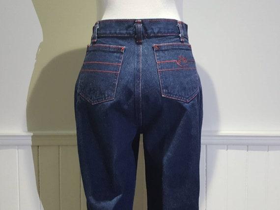 70s High Waist Jeans; 70s High Waist Denim Pants … - image 6