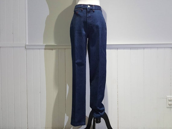 70s High Waist Jeans; 70s High Waist Denim Pants … - image 2