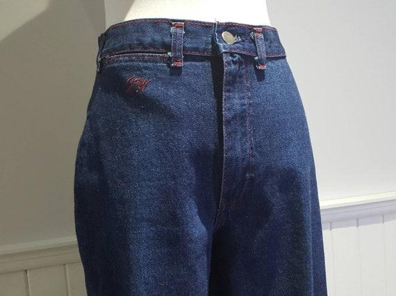 70s High Waist Jeans; 70s High Waist Denim Pants … - image 3
