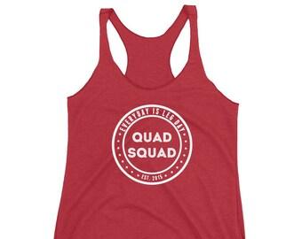 Quad Squad Racerback Tank