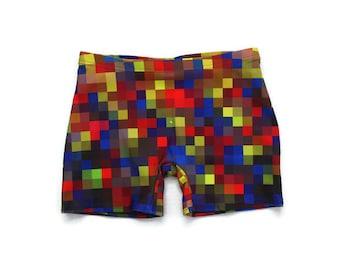 8 Bit Pixel Shorts (Unisex)