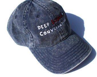 Deep Squats + Conversations Hat