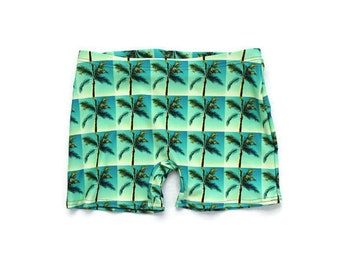 Palm Tree Paradise Shorts (Unisex)