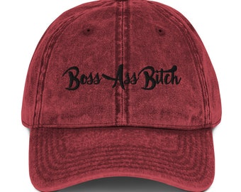 Boss Ass Bitch Hat