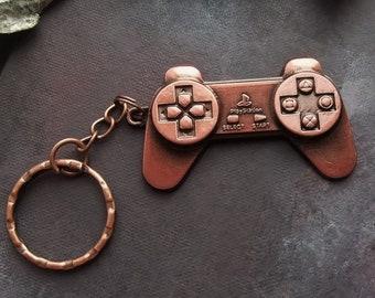 Geek Gift Game Controller Keyring Gamer Boyfriend Accessories PlayStation Video Games Nerd Birthday Girl Computer
