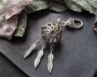 Dream Catcher Urn Necklace Spiritual Jewelry Cremation Jewellery Keepsake