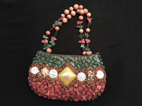 Sun N Sand Beaded Bag