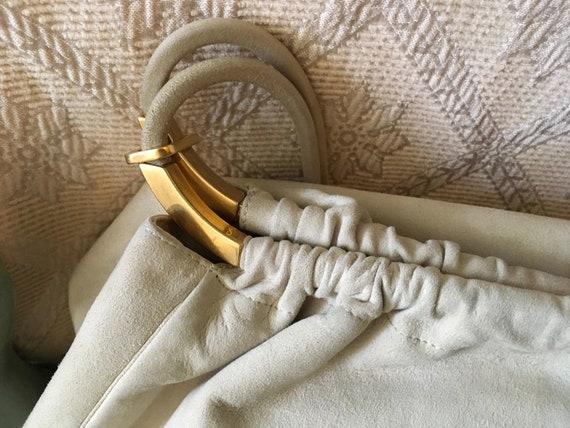 Vintage Gianni Versace Beige Bag - image 3