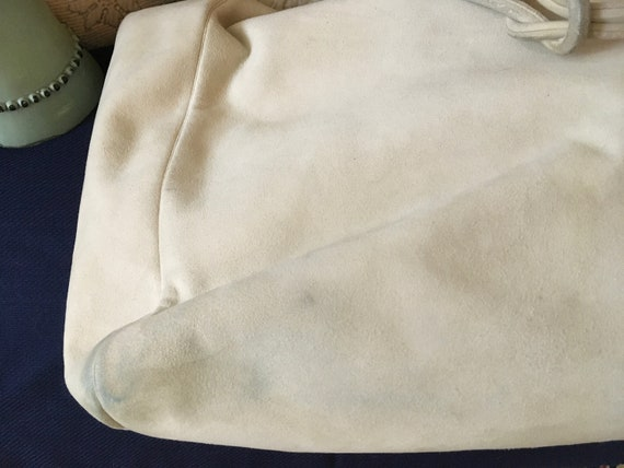 Vintage Gianni Versace Beige Bag - image 7