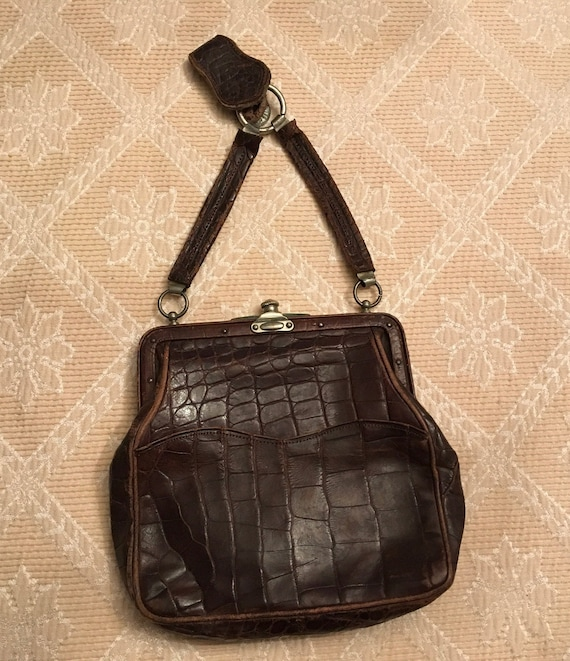 Vintage Edwardian Chatelaine Bag