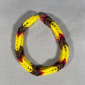 Rainbow Loom Pokemon Bracelet Staryu Bracelet Pokemon Accessories Friendship Bracelet