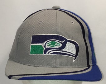 4c86974bfb1 Vintage Snapback Hats Seattle Seahawks Hat Reebok NFL Football Dad Cap Gray  Blue Acrylic Wool Baseball Caps For Men Gifts T33 OC054