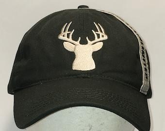 Vintage Whitetails Unlimited Hunting Hat Green Beige Baseball Caps Hats For  Men Dad Sports Cap Deer Hunter Gifts T21 AG8009 d7f376845
