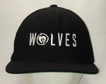 4e57856100f4ff Wolves Snapback Hat Black White Baseball Cap Wool Blend Dad Caps Cool Hats  Unique Gifts For Men T1 MA9091
