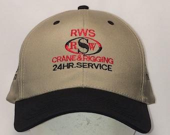 Vintage Snapback Baseball Cap Fishing Hat Sports Hats For Men Beige Black  Dad Hat RWS Crane and Rigging Service Ball Cap T5 JN8039 9356343f25c8