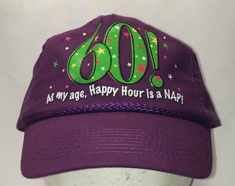 Vintage Snapback Hat Fun Novelty Gag Gift Birthday Party Baseball Cap  Lightweight Purple Green Retired Dad Hats Funny Mens Caps T30 F9040 553edf8956fc