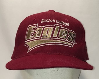 half off b342a e3094 ... australia vintage boston college eagles dad caps hats for men red gold  baseball cap starter stretch