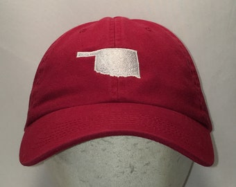 c0982ec5d79c4 Vintage University of Oklahoma Hat OU Sooners Alumni Baseball Cap Cool Dad  Hats For Men Red White College Caps Mens Gifts T52 F9091