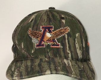 1a0a8ae0089d Vintage Auburn University Hat War Eagle Camo Snapback Baseball Cap Made In  USA Hunting Dad Hats Mens Caps Gifts T121 M9109