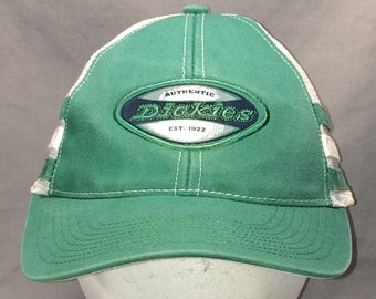 Vintage Mesh Snapback Hat Green White Baseball Cap Workwear Work Hats For  Men Dickies Ball Cap Cool Mesh Dad Hat T15 A8012 7f11ad6197e