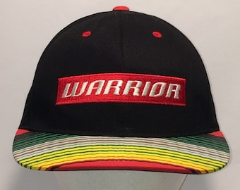 099244e3 Vintage Snapback Warrior Hat Black Colorful Striped Bill Baseball Cap  Basketball Hockey Sports Dad Caps Hats Cool Gifts For Men T9 MA8005