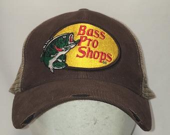 8b171b9bae16f Vintage Snapback Fishing Hats For Men Bass Pro Shops Baseball Cap  Distressed Corduroy Front Mesh Back Big Mouth Fish Dad Hat T77 J9054