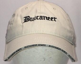 7ed52efb0d3d92 Vintage Buccaneer Homes Hat Fishing Dad Hat White Black Pirate Ship Boat  Caps For Men T15 AG7120