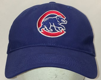 6aaff676d2d ... best price vintage chicago cubs baseball cap mlb dad hat blue red white  sports caps hats