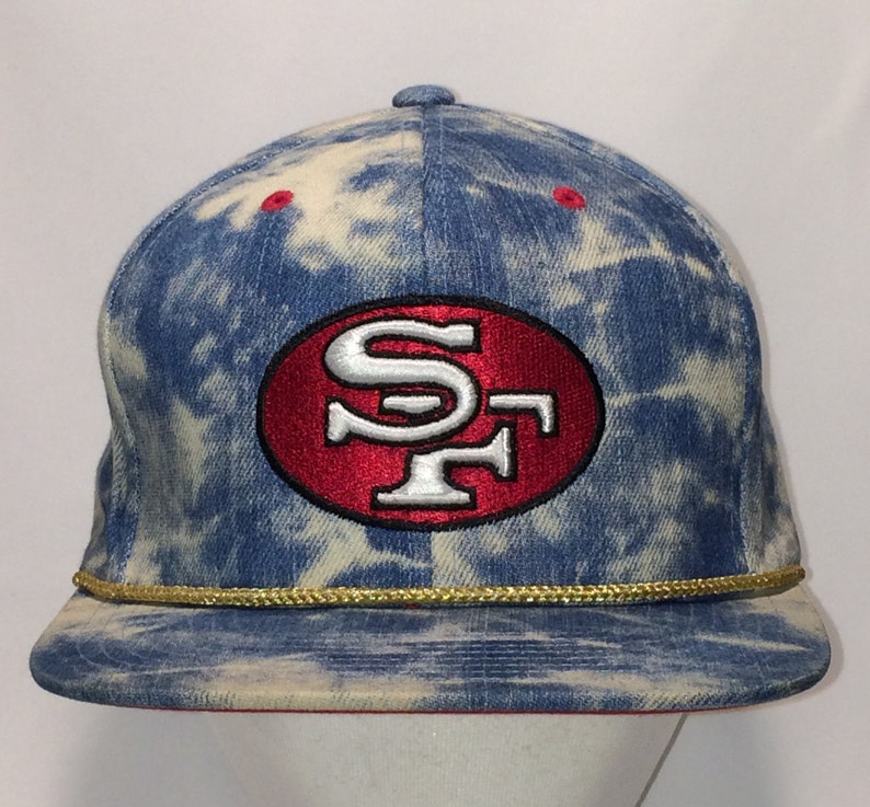 San Francisco 49ers NFL Football Hat Mitchell   Ness Nostalgia  c04036e27