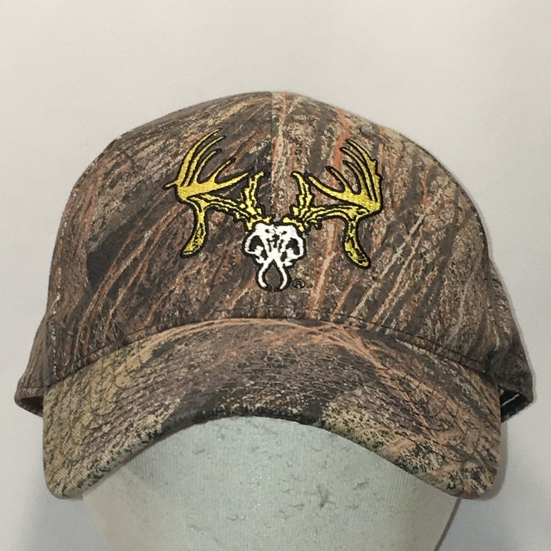 8626d630 Deer Head Hunting Camo Hat Dad Cap Baseball Caps Hats Men Gifts T41 S8013