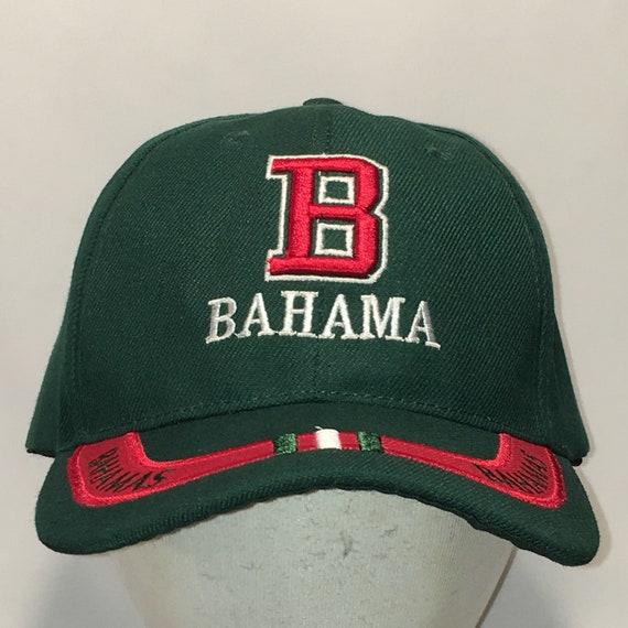 f707e75baa0a2 Vintage Bahama Islands Hat Baseball Cap Beach Vacation Fishing