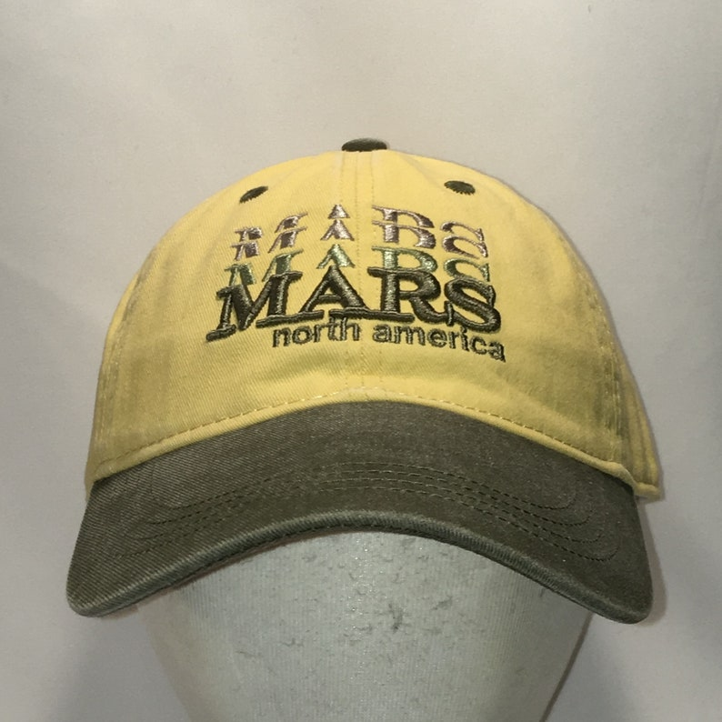 187a2044c13 Vintage Mars Hat North America Baseball Cap Chocolate Candy