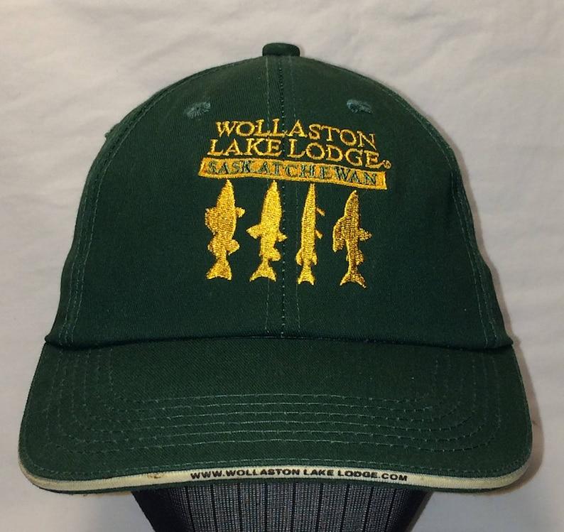 097d4ef8a0eb4 Vintage Fisherman Fishing Hat Mens Saskatchewan Canada