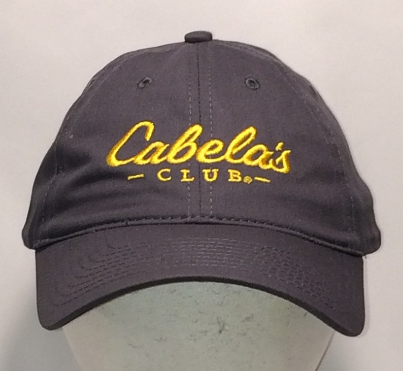 d81529b15272c Cabelas Club Strapback Hat Fishing Hunting Boating Camping
