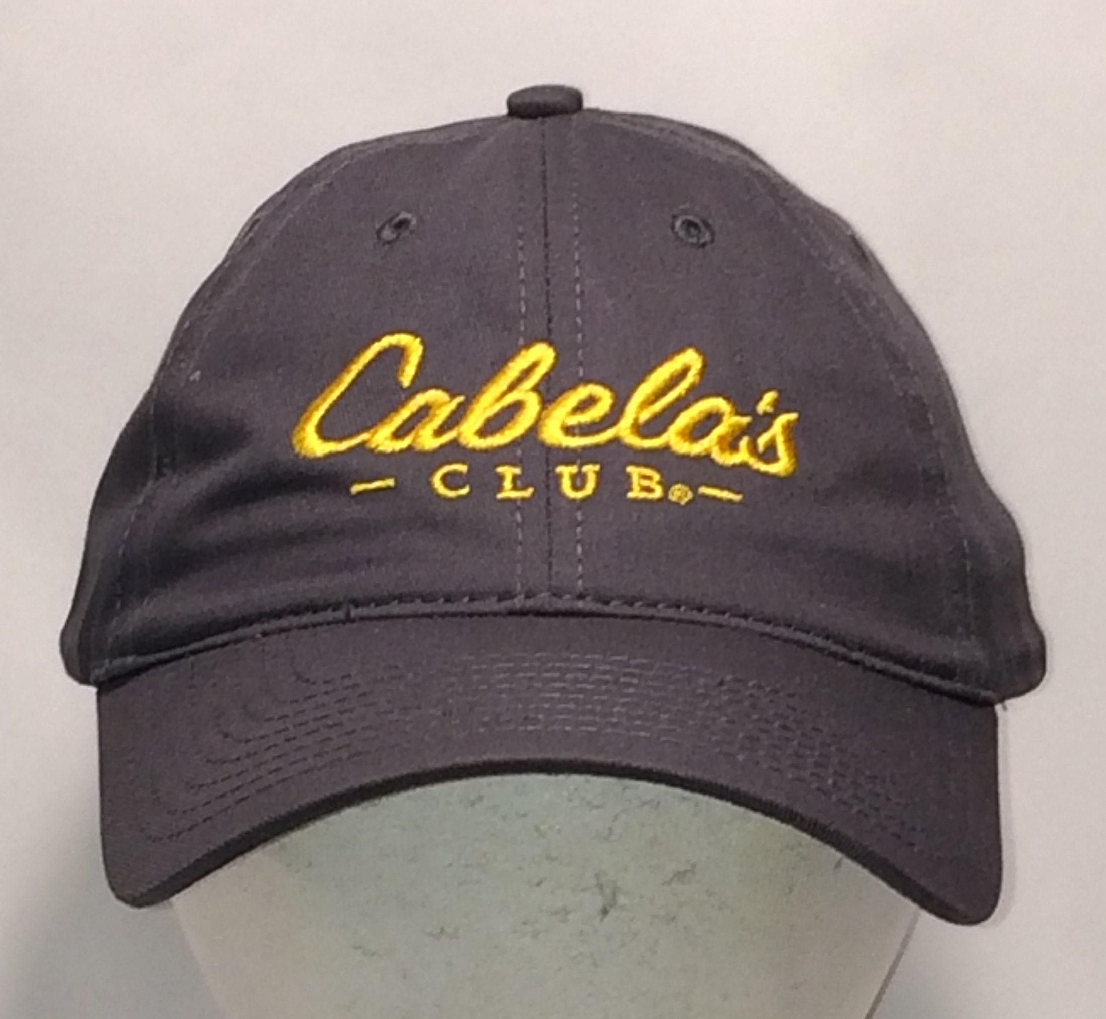 Cabelas Club Strapback Hat Fishing Hunting Boating Camping  245349231b5