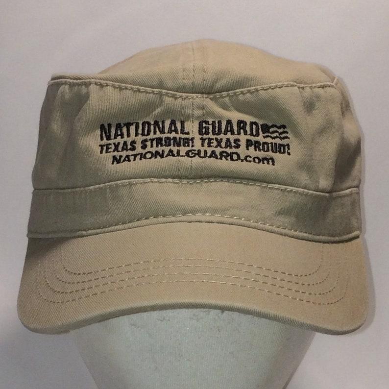 23f055b87e2cca Vintage Military Hat Texas National Guard Cadet Hats For Men | Etsy