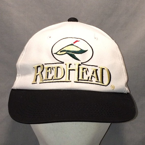 Vintage Sports Hats For Men Red Head Duck Hunting Snapback Hat  d243f0efaa6e