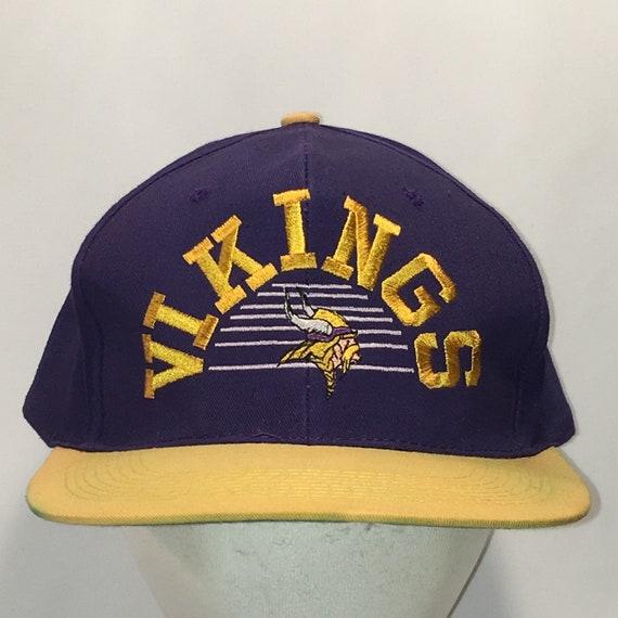 d1812dc1cea Vintage Atlanta Falcons Hat Snapback Hats For Men Purple Gold