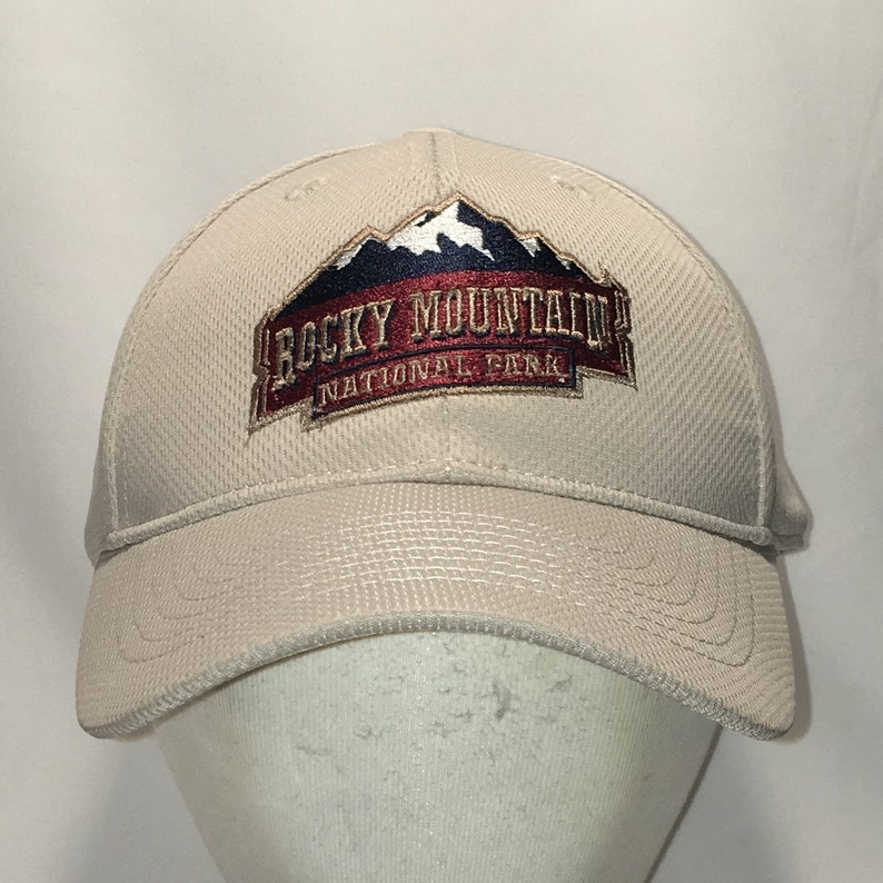 d8b18f7df7415 Vintage Baseball Cap Hats For Men Rocky Mountain National Park